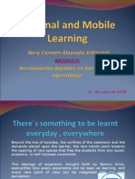 Informal and Mobile Learning