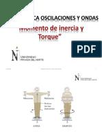 PPT_Momento de Inercia y Torque