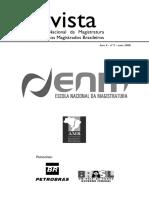 Revista Da Escola Nacional Da Magistratura - Nº 05 (Maio de 2008)