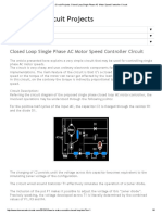 Electronic Circuit Projects_ Closed Loop Single Phase AC Motor Speed Controller Circuit