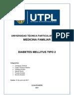 CUESTIONARIO DIABETES MELLITUS TIPO 2