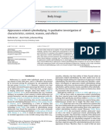 Appearance-related Cyberbullying- A Qualitative Investigation of Characteristics, Content, Reasons, And Effects