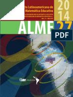 acta latinoamericana de matemática educativa 2014