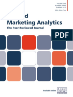 Calculating MROI Applied Marketing Analytics