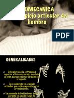 Biomecánica Del Complejo Articular Del Hombro
