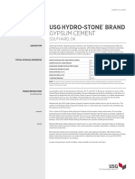 Hydro Stone Gypsum Cement Data en IG1379