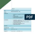 Formato de Convocatoria CENTRO GRUPO EFE HCM