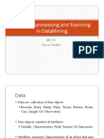 Data Preprocessing and Exploring