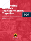 KENYA Jubilee Party Manifesto