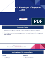 Applications and Advantages of Cryogenic Tanks