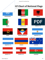 Flag Log's 2017 Chart of National Flags