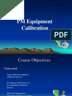 Equipment Calibration