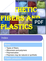 synthetic Fibers and Plastics