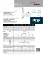 DENSO Robotics Datasheet HM-G Series