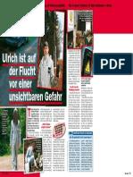 """Report in der Zeitschrift """"Viel Spaß"""" Nr. 25 vom 14.06.2017"""