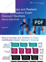 Step-By-Step Guide to Access and Redeem Cisco Certification Exam Discounts