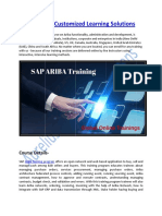 Ariba Course Customized Learning Solutions
