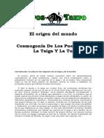 El Origen Del Mundo 6 _ Cosmogonia de La Taiga y La Tundra