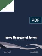 Indore Mangmnt Journal [Volume7-Issue1]