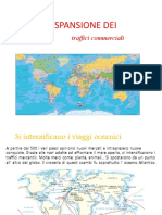 L'ESPANSIONE DEI Traffici Commerciali Giorgia Farina 2 AL
