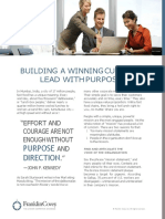 Building a Winning Culture Lead With Purpose