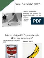 presentación arte