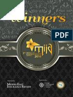 MIIA 2016 Winners