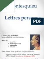 Lettres Persanes 0