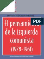 El pensamiento de la Izquierda Comunista (1928 - 1961) - Varios autores.pdf