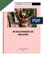 Mi Diccionario de Religión - Quibián Gaitán