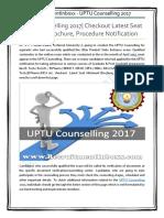 UPTU Counselling