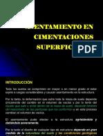 7. ASENTAMIENTO EN  CIMENTACIONES SUPERFICIALES.pptx