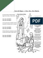 Canción a la Virgen María_Fátima_ EL 13 de Mayo_Ave María