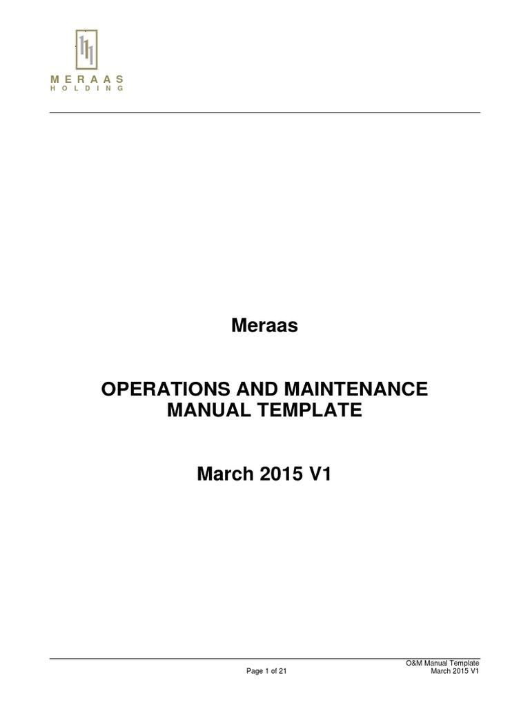 funky maintenance manual template motif resume ideas namanasa com rh namanasa com o&m manual example o&m manual template construction