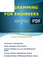 Lecture 0-An Introduction to Programming