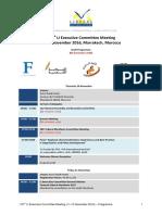Programme Marrakech 2016-11-08