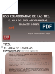 USO COLABORATIVO TICS EN LENGUAS EXTRANJERAS