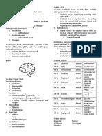 Neurologic System Reviewer