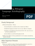 a recovering bilingual -  language autobiography