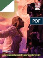 Kilkenny Arts Festival 2017 Full Programme