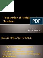 Teachers Preperation for teaching MSc students