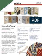 Accordion Poetry Accordion Book 2