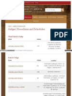 Www Cacd Uscourts Gov Judges Schedules Procedures