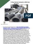 Manufacturers DI Pipe in India,India HDPE Pipe Manufacturing Cost,DI Pipe Suppliers in India-Ken Research