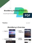 Blackberry 6 Developer Presentation - June 2010