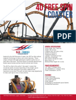 4D Free Spin Coaster