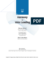 Harmony and Voice Leading