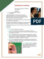 Informe Del Trabajo de Expresión Vocal y Corporal