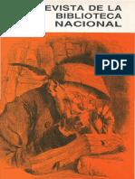 Revista Biblioteca Nacional n26 Dic 1989