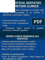 Diagnosticul Gestatiei Met.clinice